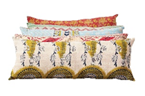 Kantha Cotton Lumbar Pillows - Pillow - DS - PICNIC