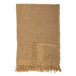 Mustard Cotton Throw - Blankets - PICNIC
