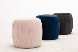 Velvet Button Ottoman - Furniture - PICNIC
