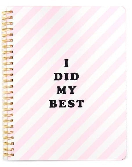 I Did My Best Journal - Stationery - PICNIC