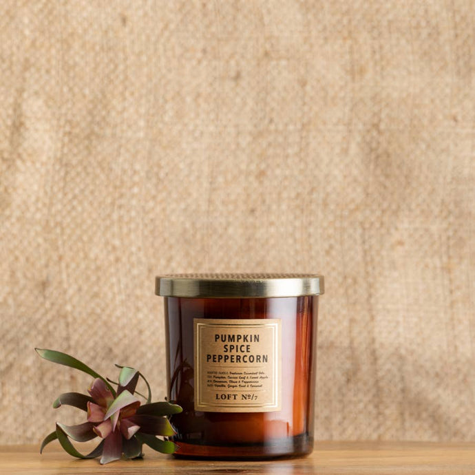 Pumpkin Spice Peppercorn Candle 9.8 oz