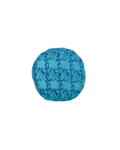 Load image into Gallery viewer, Recycled Sari Round Pouf - Pillow - PICNIC