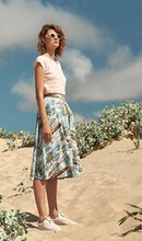 Load image into Gallery viewer, Sandy Button Skirt in Island Paradise - Skirts - PICNIC