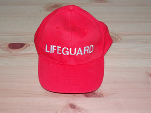 Hat: Lifeguard Cap (baseball style 1)