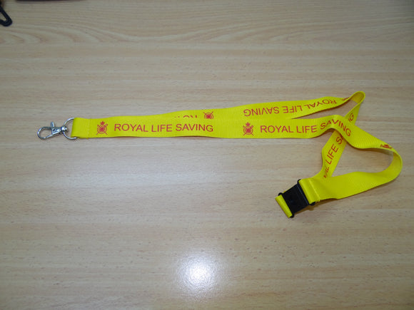 Lanyard, Royal Life Saving (Metal Clip)