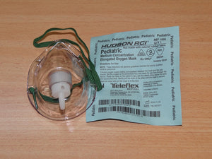 Oxygen Therapy: Mask - Pediatric (baby)