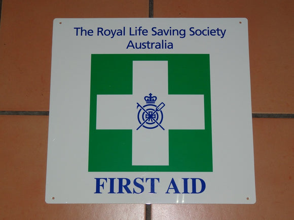 Sign: First Aid [CLEARANCE]