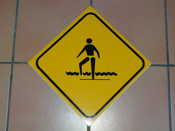 Sign: Shallow Water [CLEARANCE] (4 only)