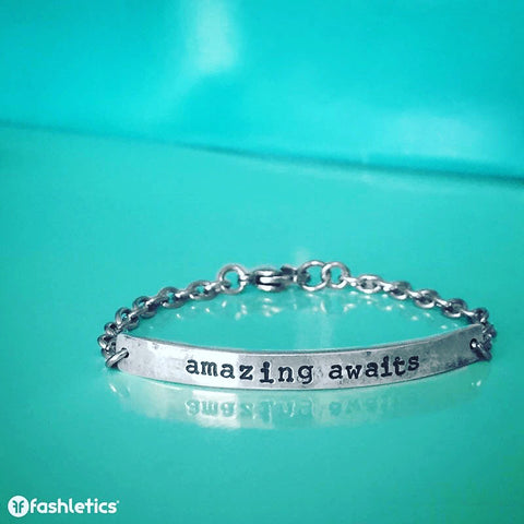 Inspirational Bracelet Amazing Awaits