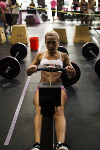 Whitney Bozzer Rowing CrossFit