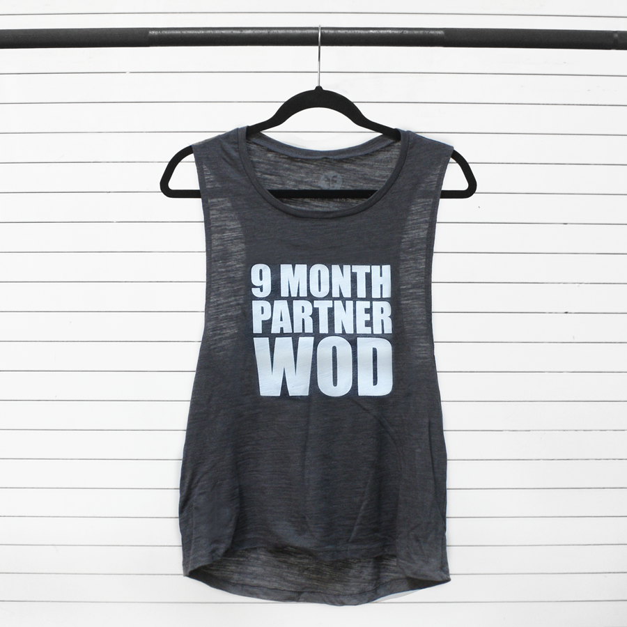 9 Month Partner WOD Maternity Workout Apparel