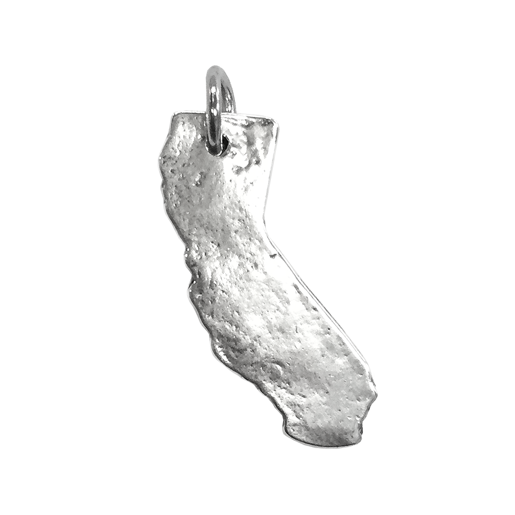 California Charm - Sterling Silver