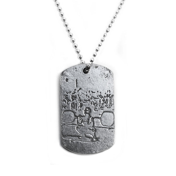 Weightlifter Dog Tag
