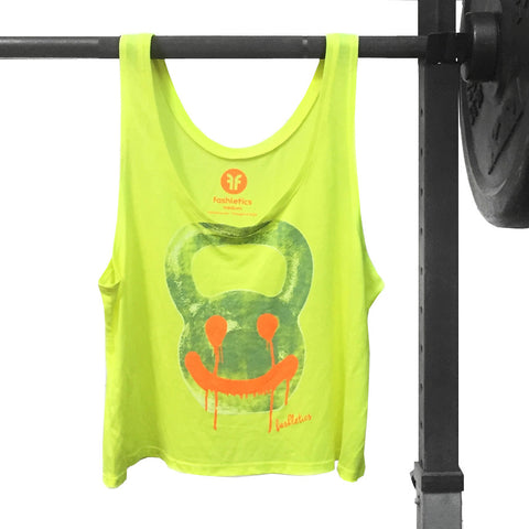 Kettlebell workout crop tank