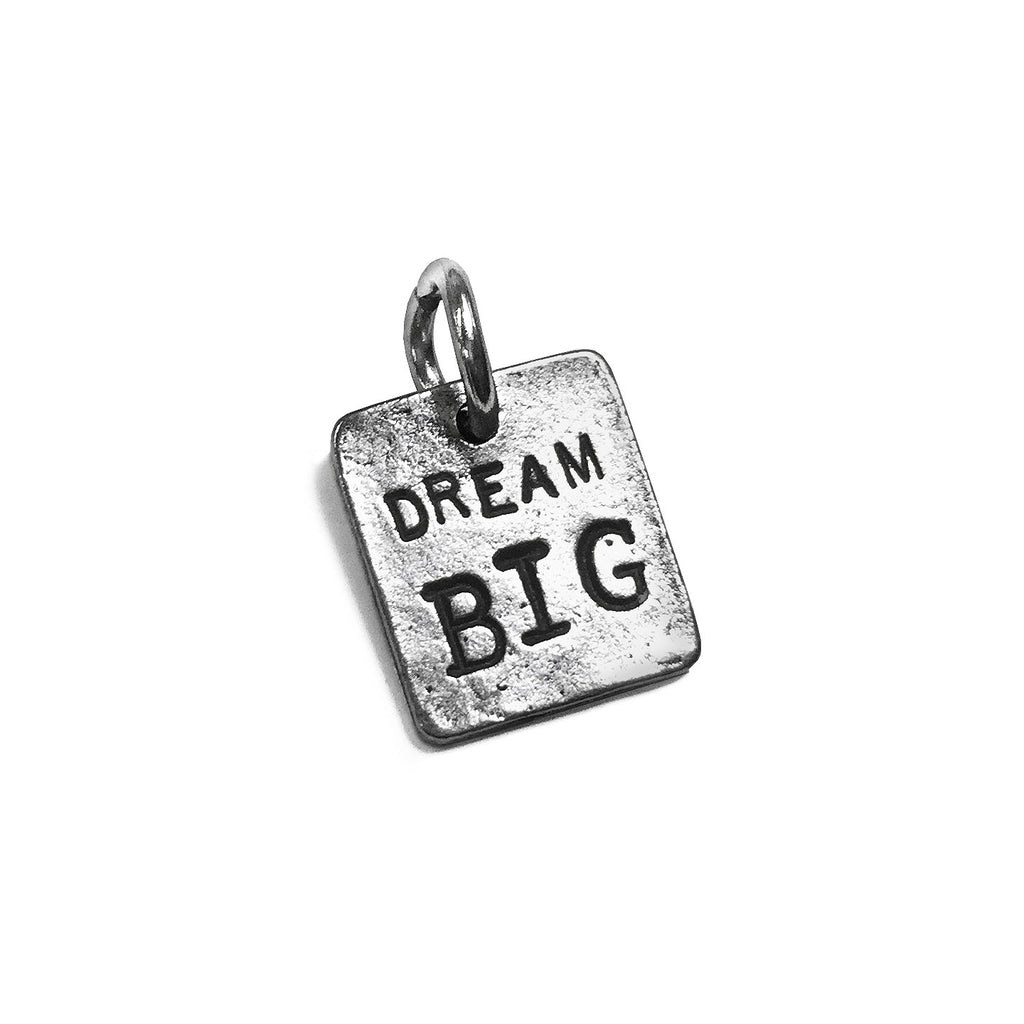 Inspirational Jewelry Dream Big Charm