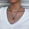 Kettlebell Necklace (large bronze)
