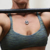 Weight Plate Necklace (45lb plate)