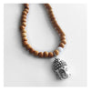 Yoga Jewelry Buddha Necklace with Beads