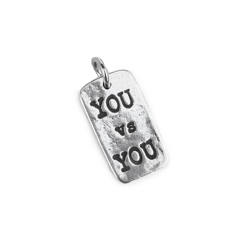 Sterling Silver You VS You Charm