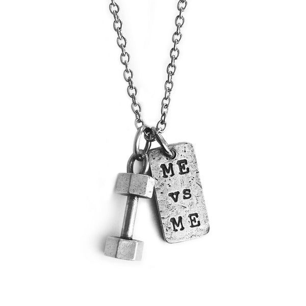 Dumbbell Necklace Me Vs Me Charm