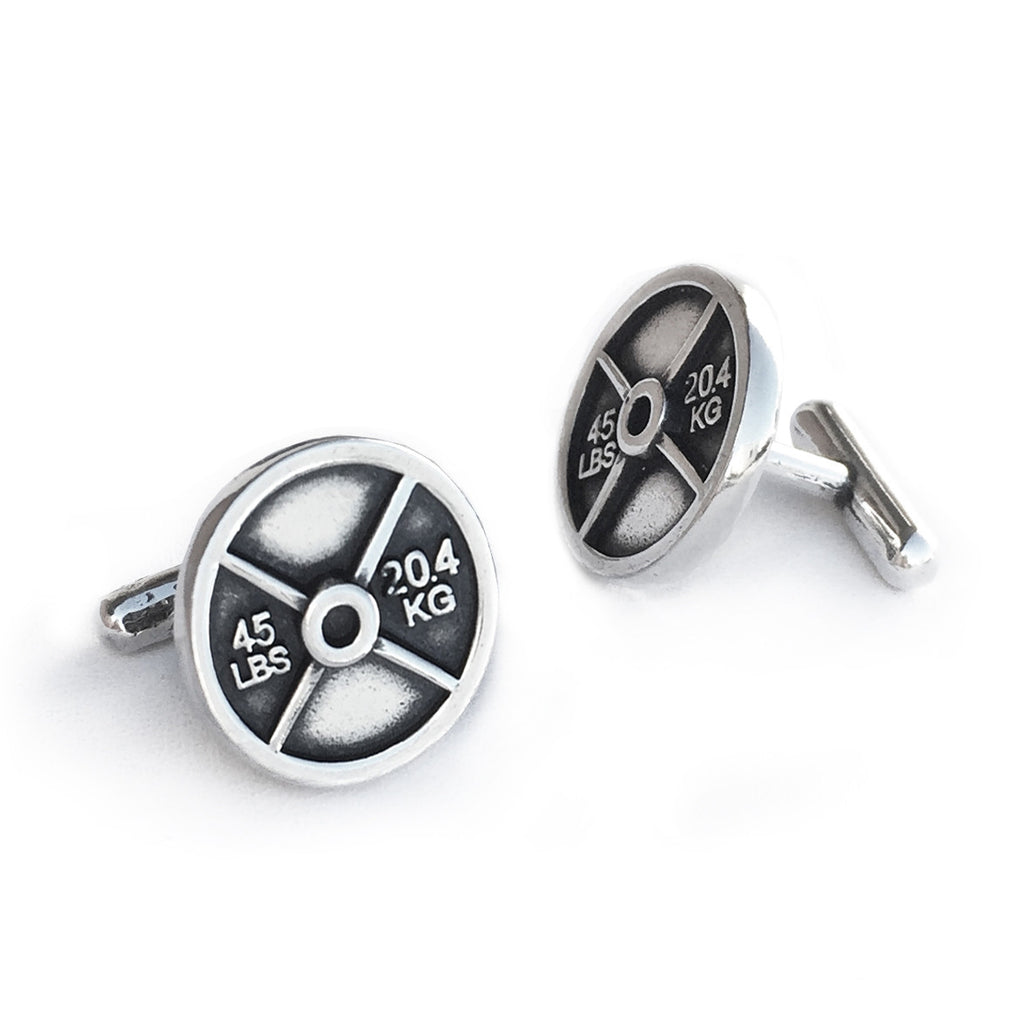 weight plate cuff links