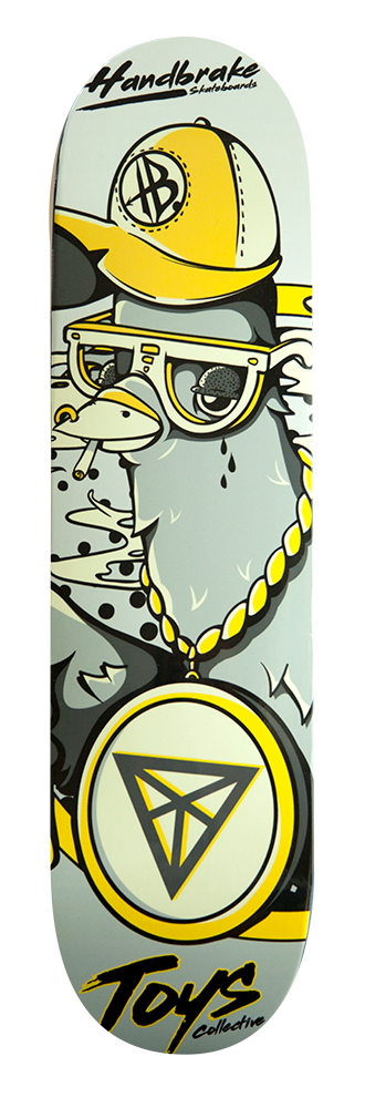 Ghetto Pigeon Skateboard deck