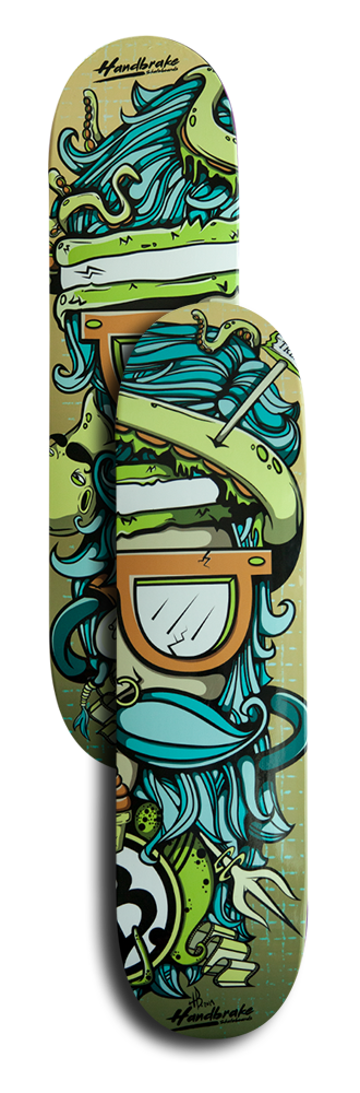 The Dude Double Skateboard Decks