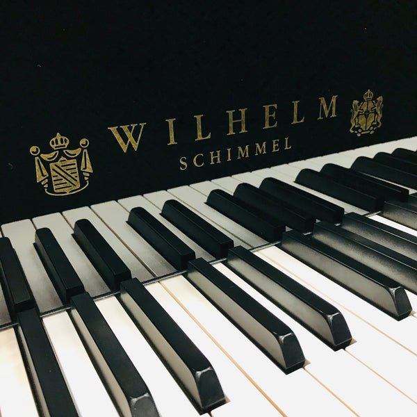 Wilhelm W180 Grand Piano Fallboard Logo