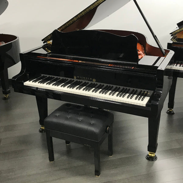 Wilhelm W180 Grand Piano with Artist Bench