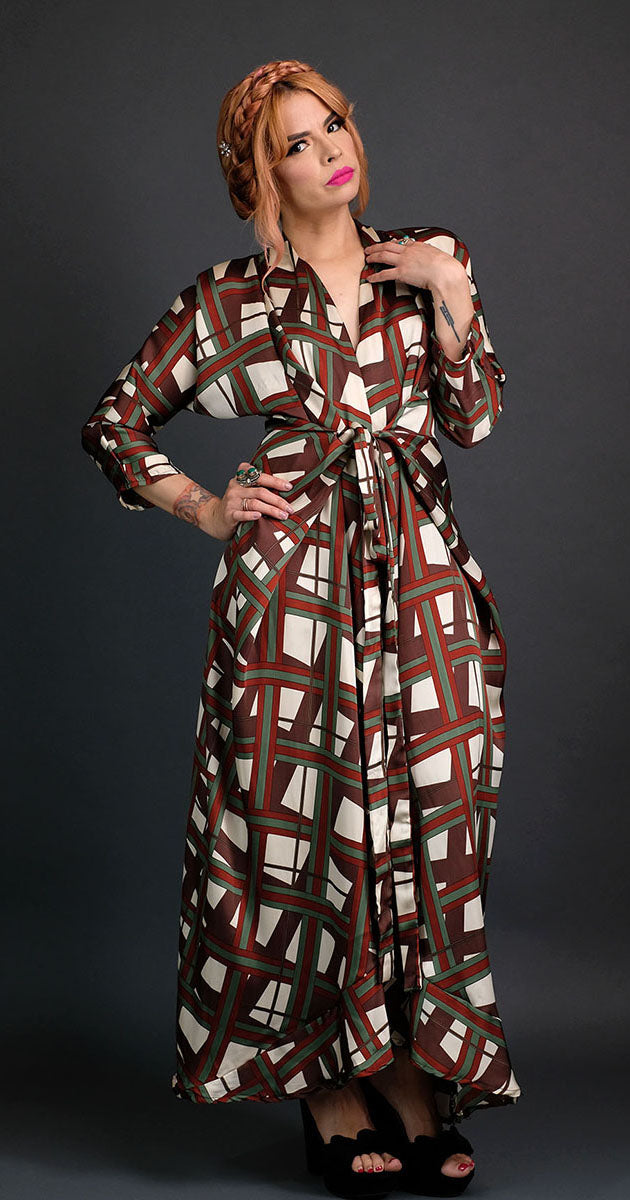 New York Plaid - Signature Dress