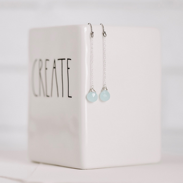 Mint to Bee Earrings