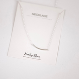 JoAnn Curvy Bar Necklace