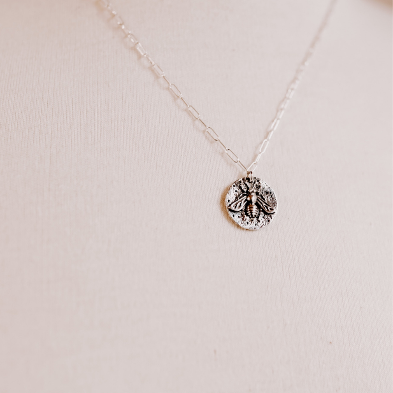 Artemis | Bumble Bee | Coin Necklace
