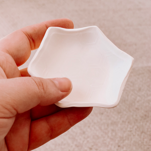 Hexagon Jewelry Dish