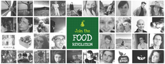 Postkaart: join the food revolution