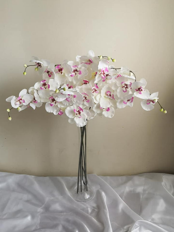 Blooming Essentials Ltd Artificial Orchid Flower arrangement