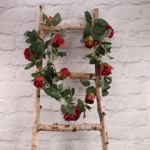 Blooming Essentials Ltd Artificial Red Rose Garland