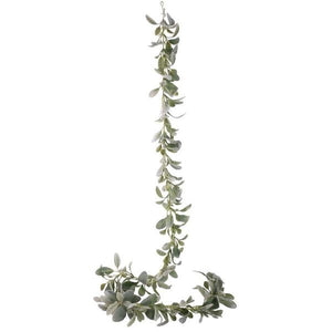 Blooming Essentials Ltd Artificial Lambs Ears Green Garland