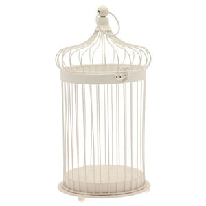 Blooming Essentials Ltd Artificial Classic Cream Bird Cage