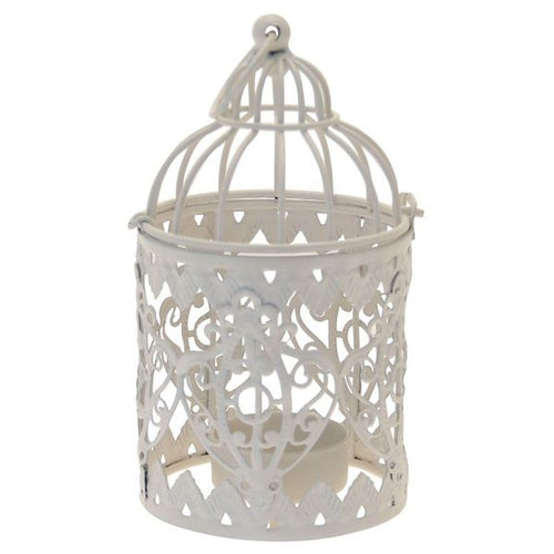 Blooming Essentials Ltd Artificial Bird Cage Tealight Holder