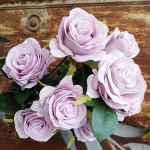 Blooming Essentials Ltd Artificial Lilac Rose Bush