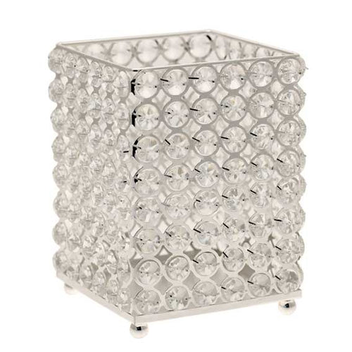 Blooming Essentials Ltd Artificial Crystal Candle Holder
