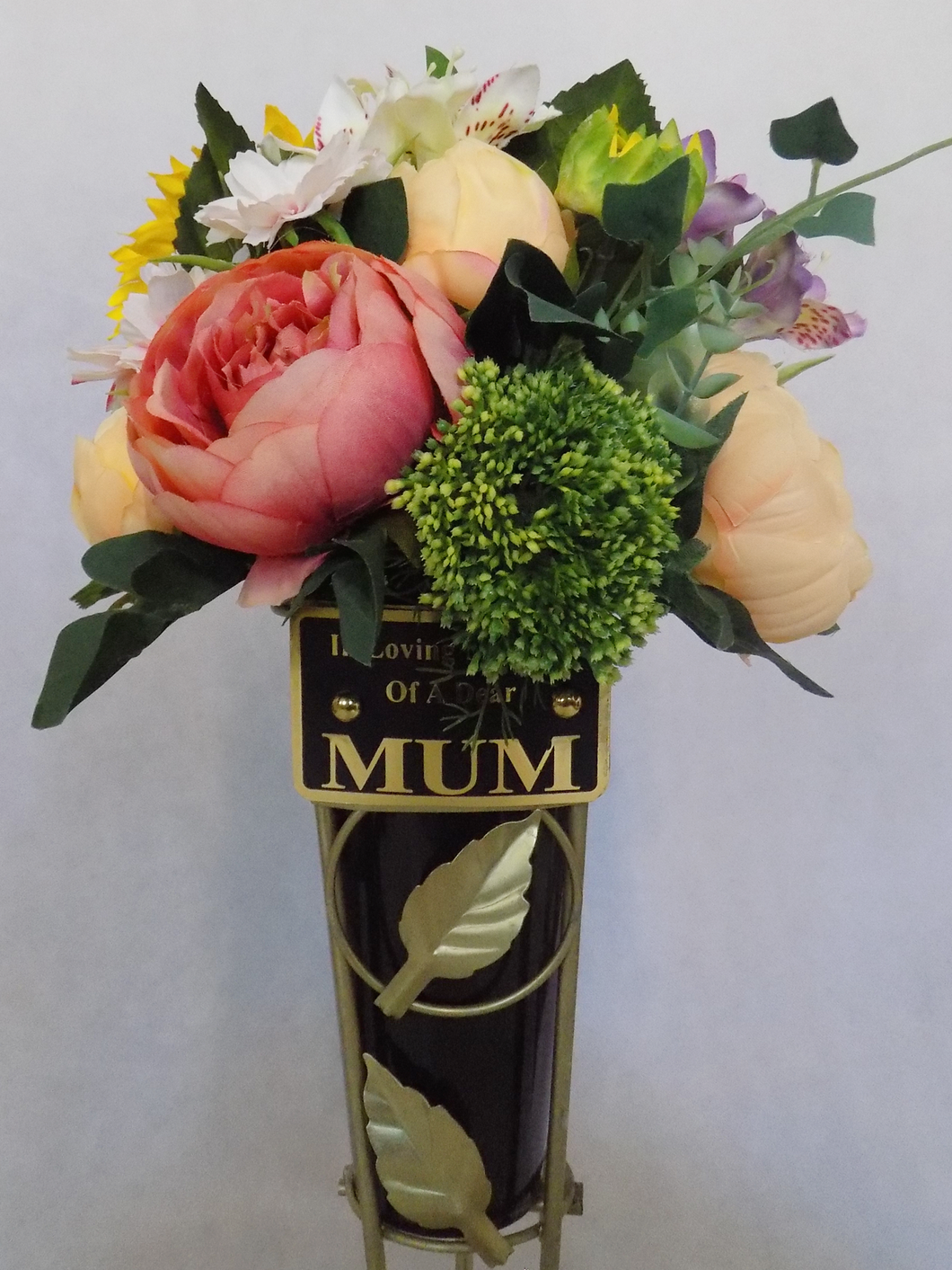 Blooming Essentials Ltd Artificial Large Memorial Arrangement