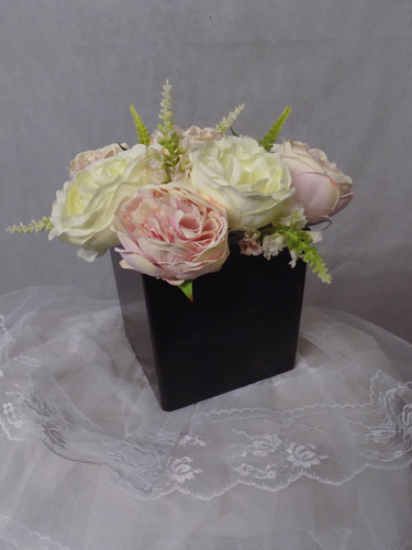 Blooming Essentials Ltd Artificial Peony & Veronica Box Display