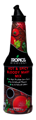 Tropics Mixology Hot & Spicy Bloody Mary Mix