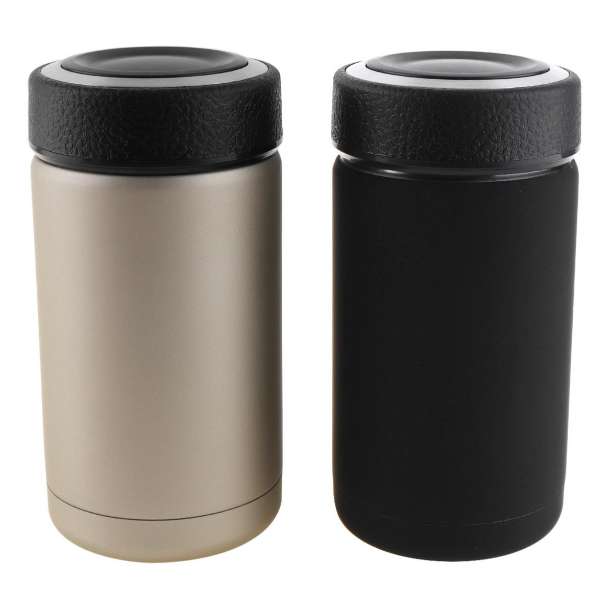 13.5oz Insulated Vacuum Thermos with Removable Strainer