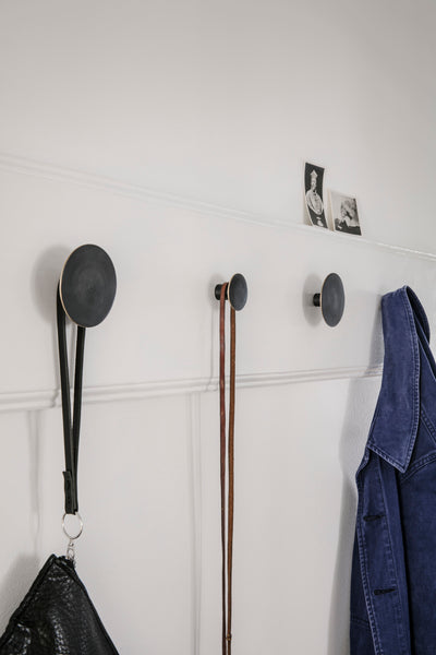 Black Brass Hook, Accessory Wall Hook, Ferm Living, Places and Spaces