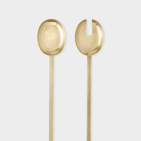 Fein Salad Servers, Accessory Utensils, Ferm Living, Places and Spaces Design Ltd