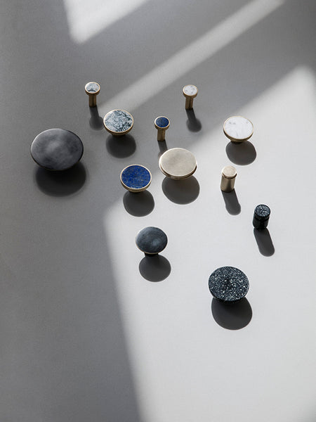Blue Lapis Lazuli Stone Hook, Accessory Wall Hook, Ferm Living, Places and Spaces Design Ltd