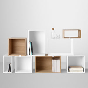 Stacked Shelf System, Furniture Shelf unit storage, Muuto, Places and Spaces Design Ltd